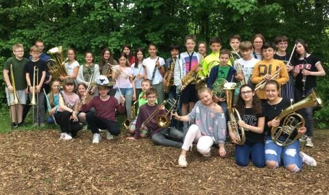 Bläserfahrt der Klasse 6a in Limburg