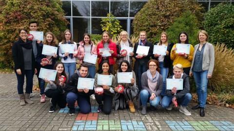 DELF-Diplom-Verleihung