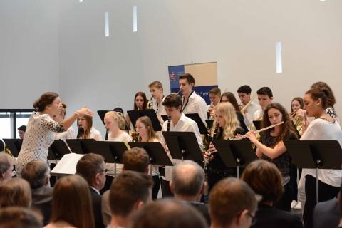 Concert Band im Landtag 2016