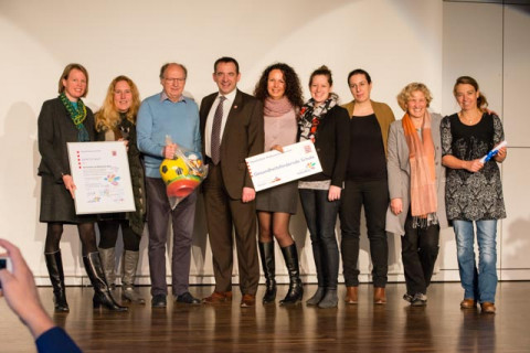 Übergabe des Zertifikats 'Gesundheitsfördernde Schule' am 6.2.2018 (Foto von Diana Stein: http://www.photo-diana-stein.de/)