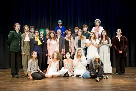 Gruppenbild der Theater-AG