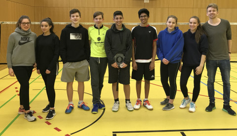 Vizemeister Badminton 2018