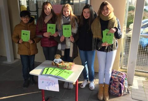 Redaktion der Schülerzeitung 2018