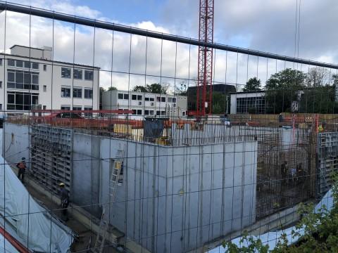 Neubau Verwaltung 2021