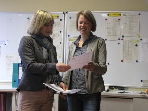 Neue Schulleiterin am GMB: 20.2.2017