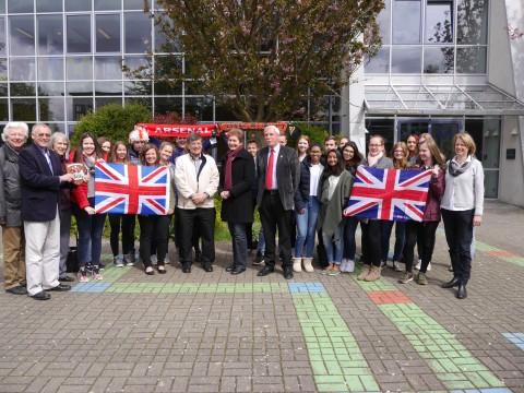 Besuch des Bürgermeisters von Tunbridge Wells 2016