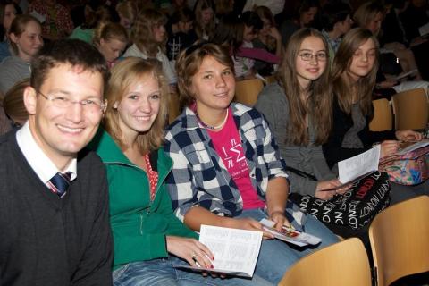 Fremdsprachenwettbewerb: preisverleihung 2011