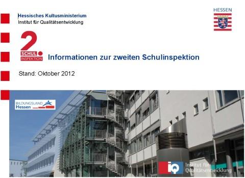 Schulinspektionen in Hessen