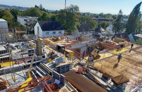Neubau des Verwaltungsgebäudes: Herbst 2021