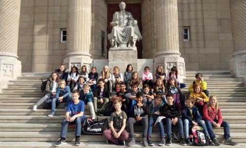 Exkursion der Forscherklasse 2018