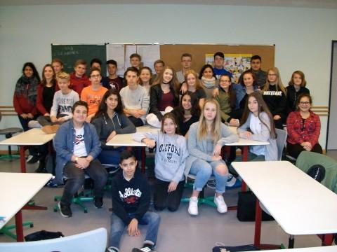 Klassenfoto 8e (Oktober 2017)
