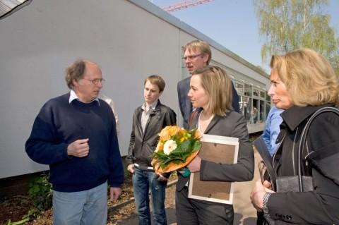 Besuch der Familienministerin Schröder