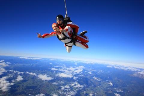 Neuseeland: Skydive