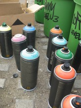 Graffitiworkshop: Die Cans