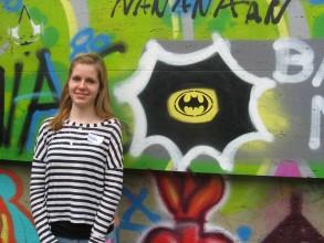 Graffitiworkshop: Retter der westlichen Welt ...