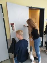 Mädchentoiletten werden bunter