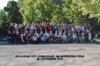 Kollegiumsbild 2015/16