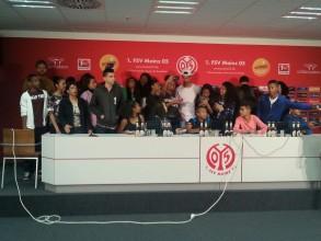 Austausch mit La Réunion: Mainz 05