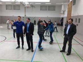 Oberbürgermeister Sven Gerich zu Besuch am GMB (15.3.2018)
