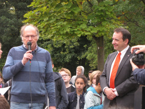 """Martin Dürr - Kultusminister Lorz: """"Mensch des Respekts"""""""
