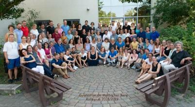 Kollegiumsfoto 2018/19