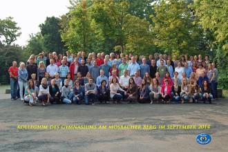 Kollegiumsfoto 2014/15