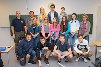 Schulsanitätsdienst 2016
