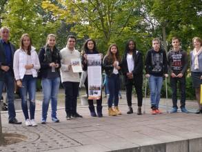 """Schulfest 2015: Preis der Schulkonferenz für die Leonardo-Gruppe """"New Reformation – Change the View"""""""