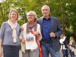 Schulfest 2015: Preis der Schulkonferenz für Frau Reithmayer
