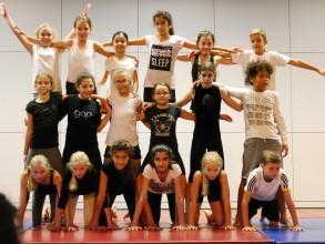 Schulfest 2015: Akrobatik