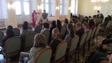 Austausch mit La Réunion 2015: Empfang durch Frau Scholz