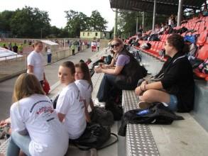 Schulsanitätsdienst: Bei den Bundesjugendspielen