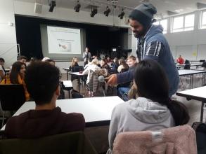 Schülerratssitzung: März 2018